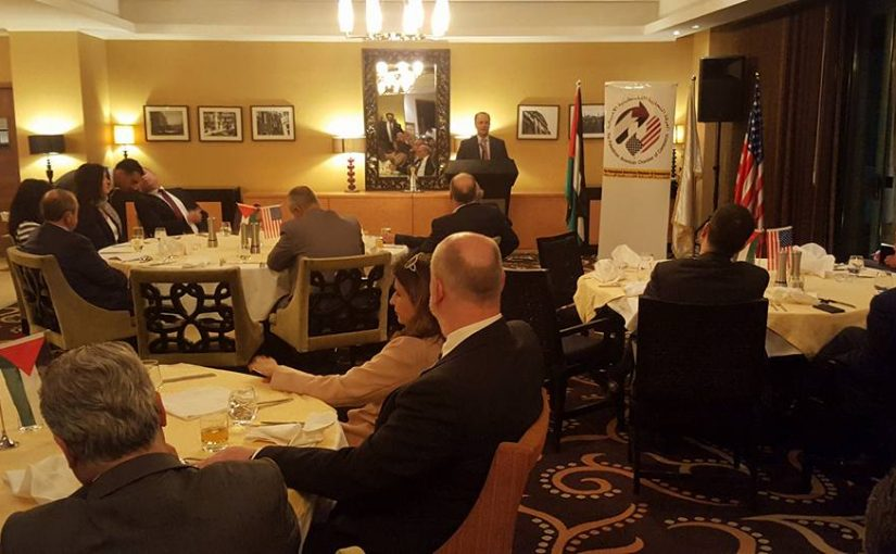 AmCham Hosted A Dinner and Discussion with Dr. Mohammad Mustafa the Chairman of Palestine Invistment Fund (PIF)