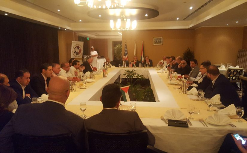 AmCham Hosted a Dinner and a Discussion with Dr. Mohammad Shtayyeh