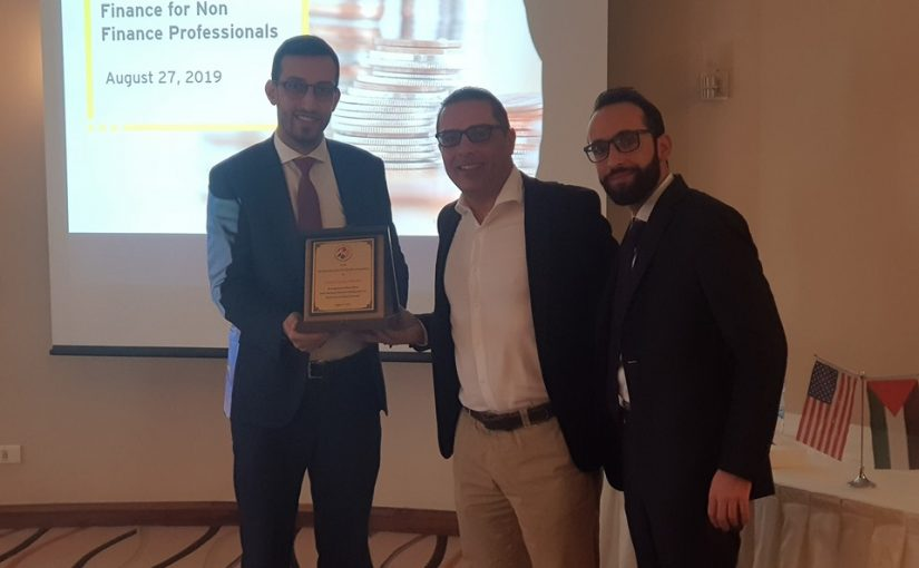 AmCham in Cooperation with Ernst & Young Palestine hold a Training Session on Finance for non- finance professionals.